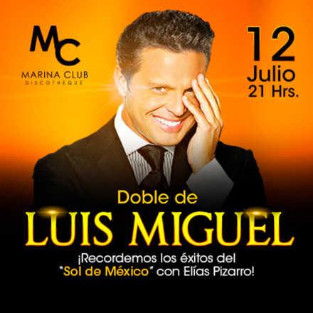 Noche de Estrellas con Doble de Luis Miguel