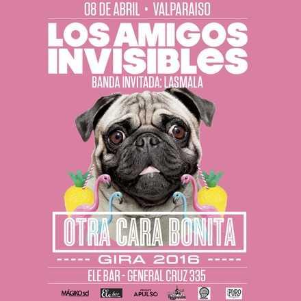 Los Amigos Invisibles en Valparaíso